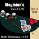 Magician's Half Circle Close Up Pad (Hunter Green) 22.5