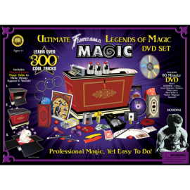 Ultimate Legends of Magic Kit (w/DVD)