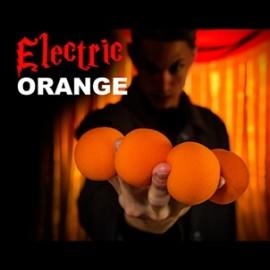 Vibrant Orange Sponge Balls